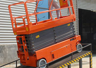 Mobile Safety Electric Work Platform Lifts With Emergency Stop Button