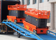 Single Person Electric Aerial Work Platform High Strength Aerial Lift Scaffolding