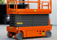 8m Platfrom Height Compact Scissor Lift Powered Scissor Lift For Factory Maintenance