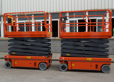 China Small Electric Scissor Lift Aerial Work Platform Working Height 10M factory