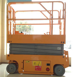 China Miniature Mobile Hydraulic Scissor Lift Platform Lightweight Aerial Lifts factory