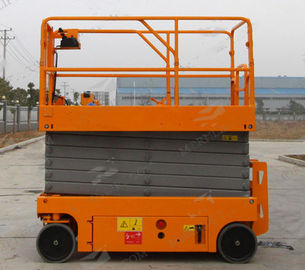 China Portable Mobile Aerial Work Platform 11.8m Heavy Weight Capacity Fork Type factory