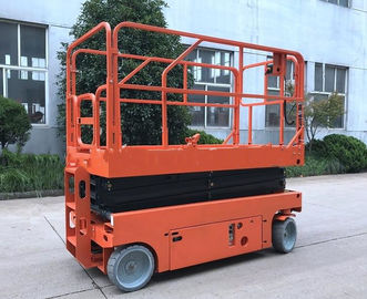 China Proportional Control Mobile Aerial Work Platform Electric Scaffold Lift factory