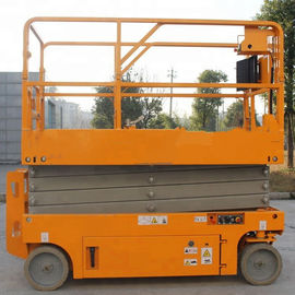 China Manual Powered Movable Scissor Lift Pallet Scissor Lift Platforms One Man factory