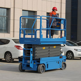 China Proportional Control Movable Scissor Lift Industrial With 10m Lifting Height factory