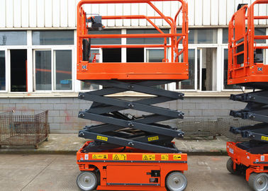 Scissor Lift 5.8m Elevated Work Platform Occupy Tight Space For Aerial Work