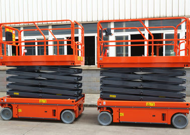 China Hydraulic Driven Scissor Lift Aerial Work Platform Working Height 12m factory