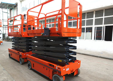 Motion Alarm Self Propelled Electric Scissor Lift Self Propelled Single Man Lift