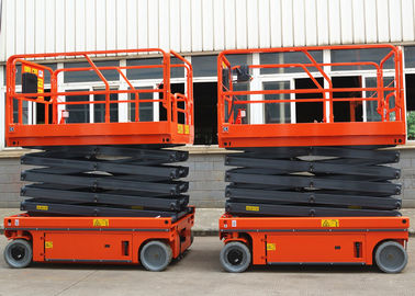 Flexible Simple Self Propelled Elevating Work Platforms Stable Performance