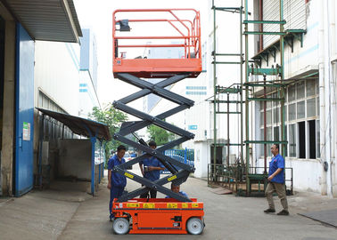 China Aerial Maintenance Scissor Lift Extension Platform Self Propelled Lift Table factory