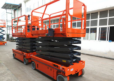 Manganese Steel Self Propelled Aerial Work Platform Auto Brake System