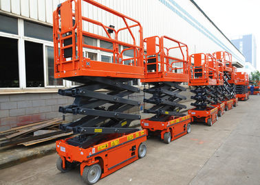 Self Propelled Mobile Aerial Work Platform 6m Steel Electric Driven