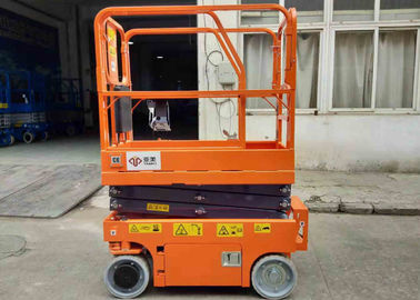 China Electric Industrial Scissor Lift With Width 0.76m Elevator Compact Dimensions factory