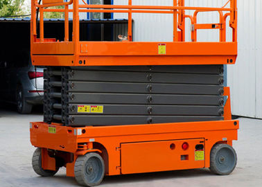 China 8m Platfrom Height Compact Scissor Lift Powered Scissor Lift For Factory Maintenance factory