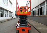 Self Leveling Mobile Scissor Lift Platform Single Person Hydraulic Work Platform Lift
