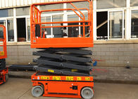 8m Hydraulic Drive Self Propelled Aerial Work Platform Safety Extendable