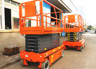 13.7m Electric Aerial Work Platform Hydraulic Driven With Storage Battery